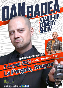 Ciofliceni: Stand Up Comedy cu Dan Badea si Dan Tutu