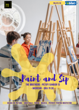 Cluj-Napoca: The Brothers - Paint & Sip