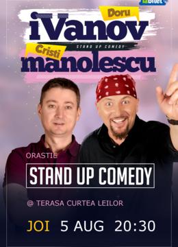 Orastie: Stand-up Comedy cu iVanov si Cristi Manolescu
