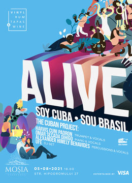 VRTW Alive: Soy Cuba, Sou Brasil @ Mosia Corbeanca