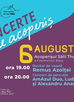 Sibiu: Recital Remus Azoiței