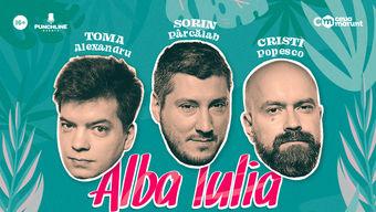 Alba Iulia: Stand Up Comedy cu Toma, Popesco si Sorin Show 1
