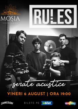 Concert Rules @ Moșia Corbeanca