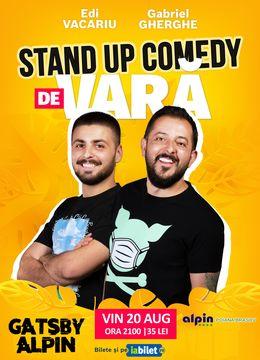 Poiana Brașov: Stand Up Comedy de Vară | Gabriel Gherghe & Edi Vacariu