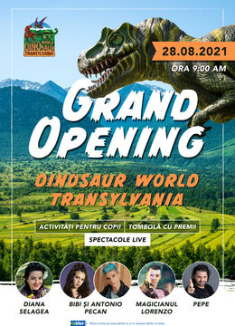 Sântămăria: DINOSAUR WORLD TRANSYLVANIA'