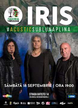 Concert IRIS #AcusticSubLunaPlina