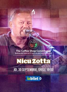 The Coffee Shop Music - Concert Nicu Zotta