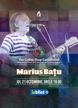 The Coffee Shop Music - Concert Marius Batu