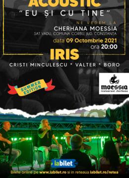 """Constanta: Iris - Cristi Minculescu, Valter& Boro- """"Eu si cu tine""""- Acustic"""