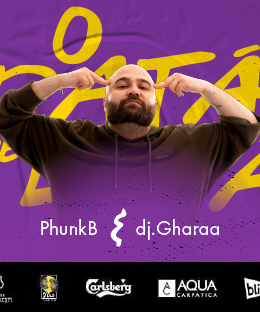O Dată Pe Lună w/ Phunk B & Dj Gharaa