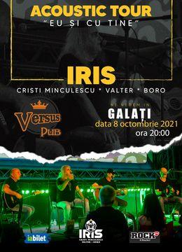 """Galati: Iris Cristi Minculescu, Valter& Boro- """"Eu si cu tine""""- Acustic"""