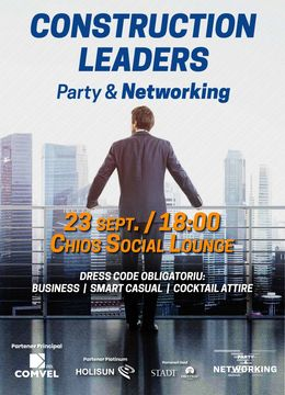 Cluj-Napoca: Construction Leaders Party & Networking