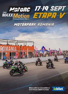 OMV MAXX MOTION MOTORC - ETAPA 5