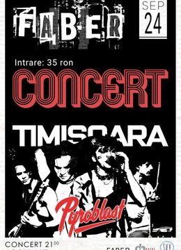 Timisoara: Concert Pyroblast