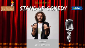 Stand up One man show marca Costel