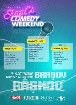 Fool's Comedy Weekend - ziua 1