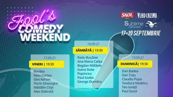 Fool's Comedy Weekend - ziua 2
