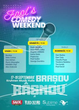 3 Days Access Fool's Comedy Weekend