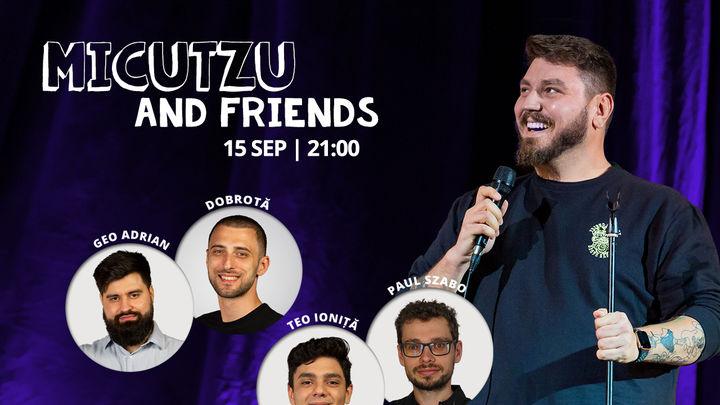 Pierre de Vară: Stand-up comedy cu Micutzu and friends