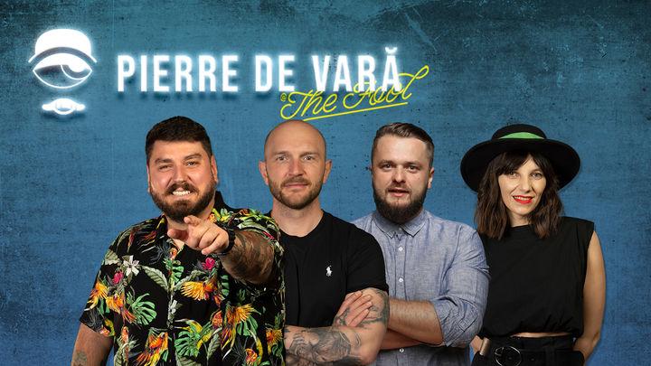 Pierre de Vară: Stand-up comedy cu Micutzu, Bordea, Cortea și Teodora