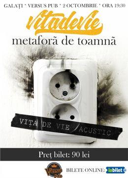Galati: Vita de Vie - Metafora de Toamna