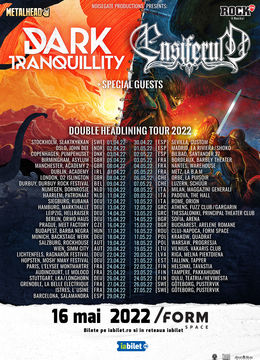Dark Tranquillity si Ensiferum canta la /FORM Space