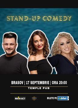 Brasov: Stand-up Comedy cu Ana-Maria Calita, Anisia Gafton si Coco Marinescu
