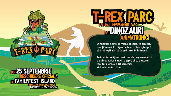T-REX PARC – Parc de dinozauri animatronici