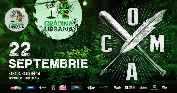 COMA live @ Grădina Urbană