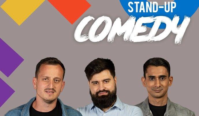 Stand up comedy cu Mane Voicu, Florin Gheorge si Geo Adrian