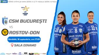 CSM Bucuresti – Rostov-Don