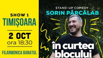 Timisoara: Filmare Stand Up Special cu Sorin Pârcălab