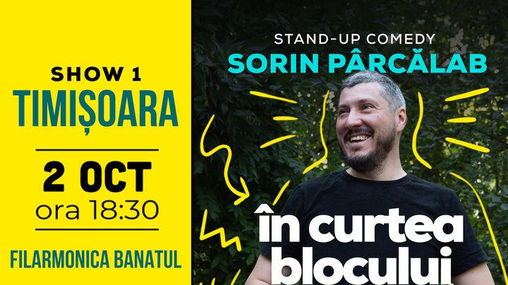 Timisoara: Filmare Stand Up Special cu Sorin Pârcălab Show 1