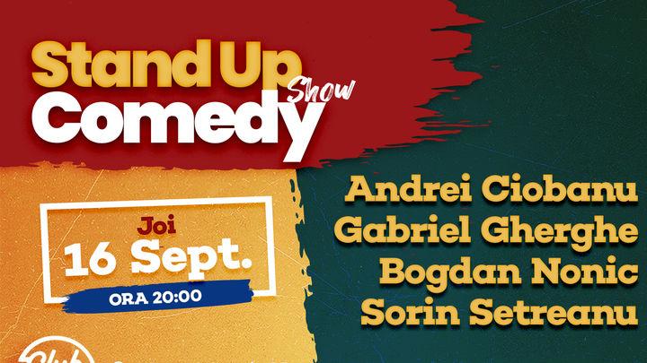 Stand up comedy la Club 99 Andrei Ciobanu, Gabi Gherghe, Bogdan Nonic & Sorin Setreanu
