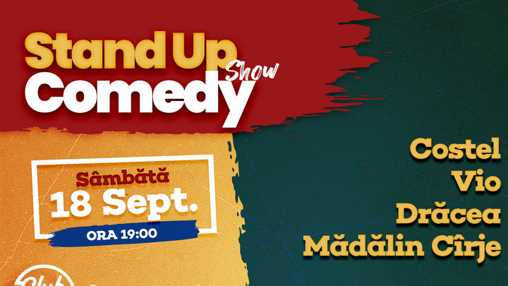 Stand up comedy la Club 99 cu Costel, Vio, Dracea & Madalin Cirje