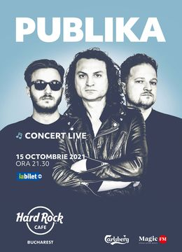 Concert PUBLIKA la Hard Rock Cafe