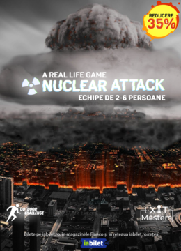 Nuclear Attack Brasov: A real life game