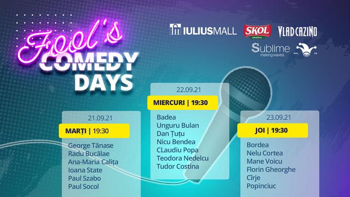 3 Days Access Fool's Comedy Days @ Cluj