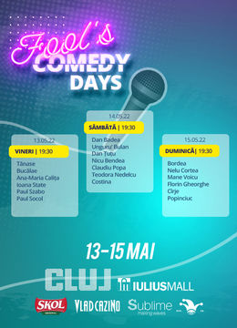 Fool's Comedy Days @ Cluj - ziua 3