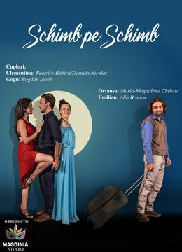 "Teatrul Rosu: Premiera ""Schimb pe schimb"""
