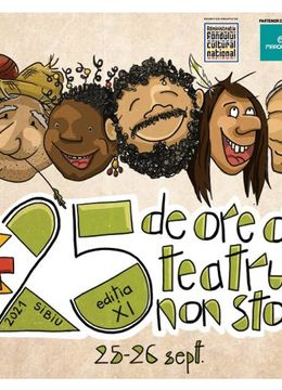 Festivalul 25 ore de teatru non-stop - Abonament Full Pass
