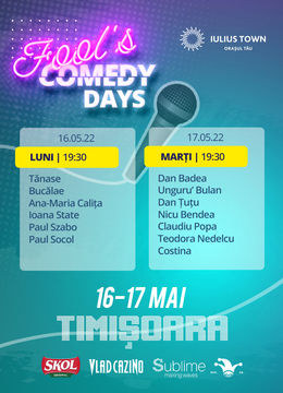 2 Days Access Fool's Comedy Days @ Timisoara
