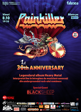 Painkiller - the 31st Anniversary - tribute show.