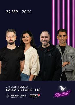 The Fool: Stand-up comedy cu Bucălae, State, Bogdan Mălăele și Florin Gheorghe