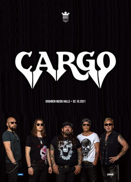 Brasov: CARGO live in Kruhnen Musik Halle