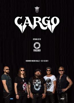 Brasov:  CARGO • REVOLVER • live in Kruhnen Musik Halle Brasov