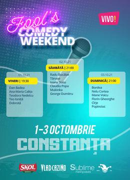 3 Days Access Fool's Comedy Days @ Constanta