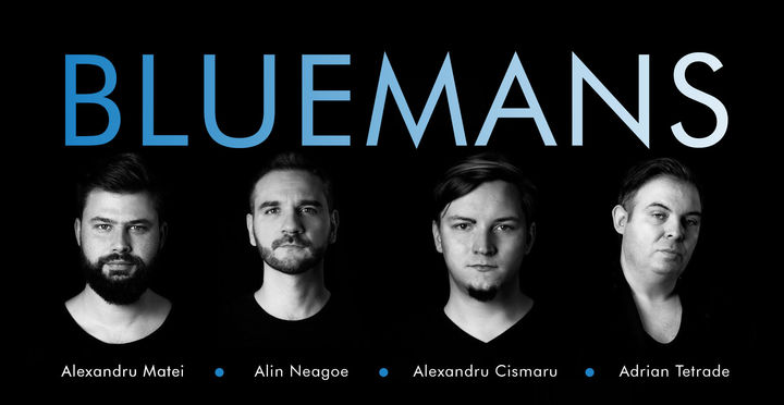 Concert: New Blues in town CU BLUEMANS