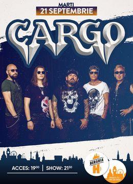 Cargo în concert la Berăria H pe 21 septembrie #PeTerasă