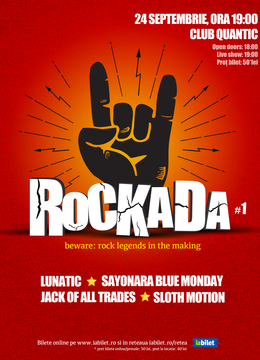 Rockada #1 Live